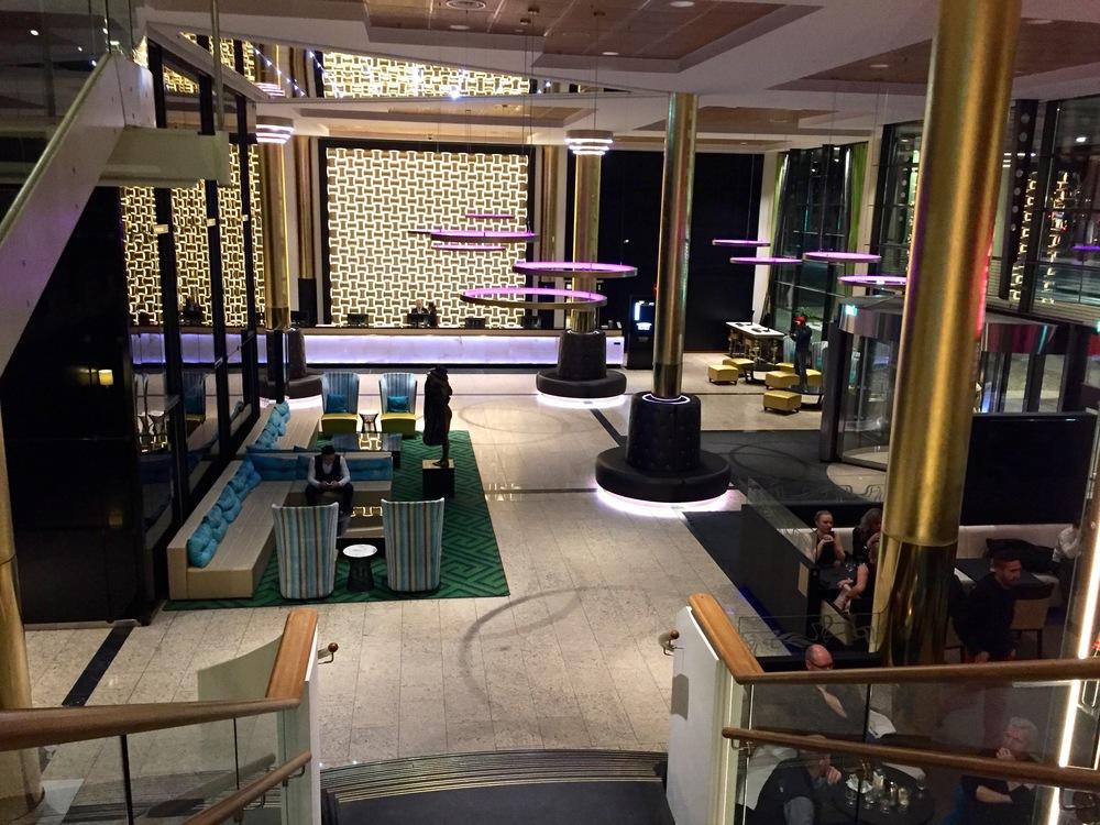 Her møter du på Thon Hotel Opera.                         Foto: Odd Roar Lange