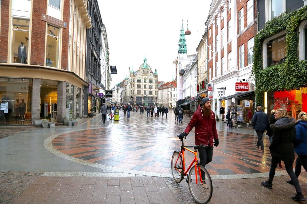 Velkommen til København og Danmark.          Foto: Odd Roar Lange