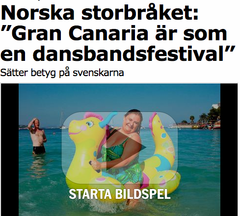 Fra svenske Aftonbladet