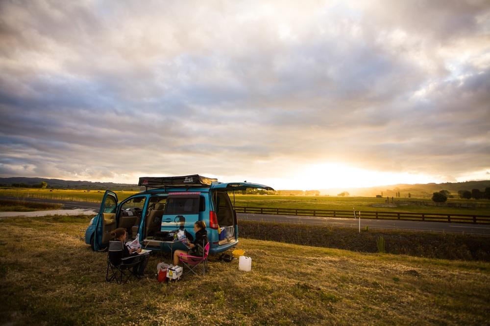 Campinglivet var nok mye av grunnen til hvorfor oppholdet mitt i New Zeland ble så vellykket.