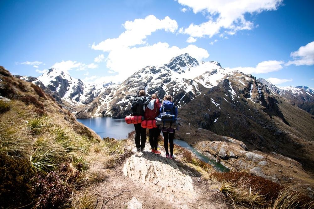 Routeborn track er fantastisk fjelltur med natur ganske lik den vi finner i Norge.