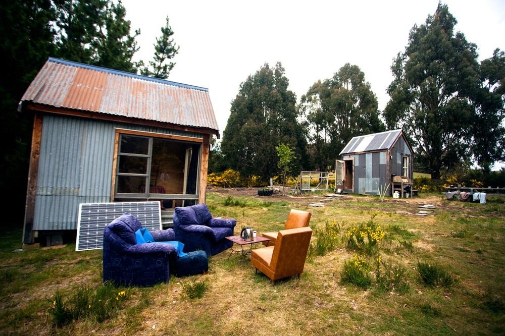Et lite hytteparadis vi bodde i utenfor Wanaka.
