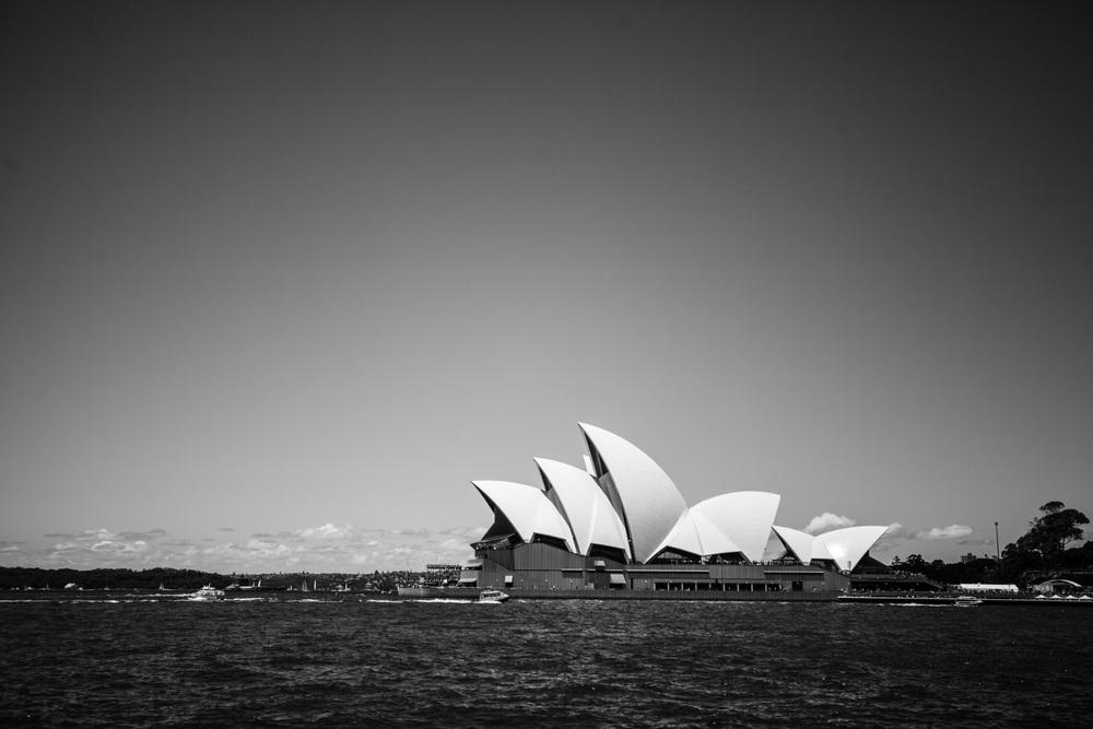 Man kan ikke reise til Sydney å ikke se opreahuset, eller hva?