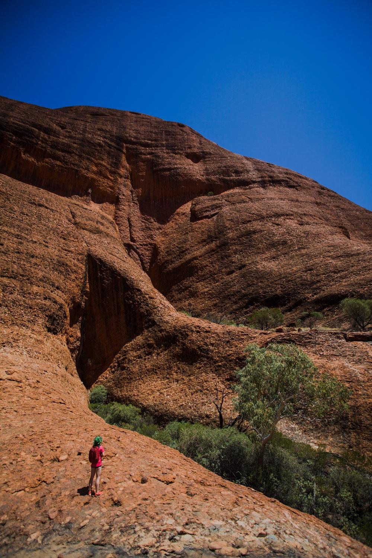 Kata Tjuta, i nærheten av Uluru.