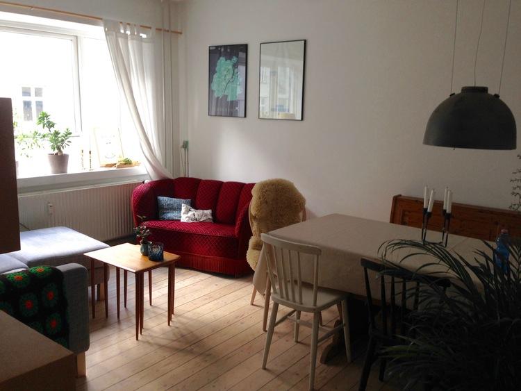 Airbnb-leilighet i København. Jeg har bodd her og ble veldig fornøyd. Foto: Odd Roar Lange