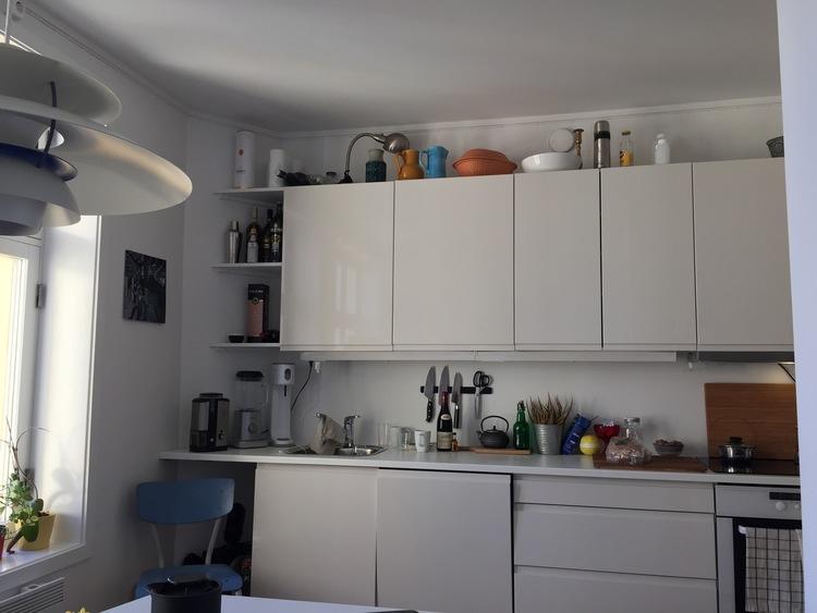 Jeg har bodd i denne airbnb-leiligheten i Oslo.        Foto: Odd Roar Lange