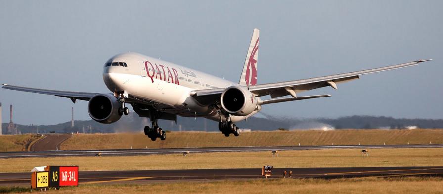 Vinneren i denne testen.                              Foto: Quatar Airways