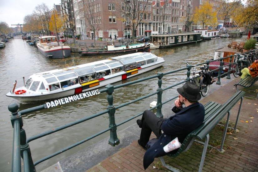 Legg inn noen dagers ferie i Amsterdam.                           Foto: Odd Roar Lange