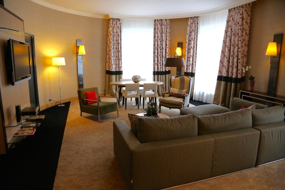 Her i denne suiten bodde Michael Jackson flere ganger. Nå er det din tur.             Foto: Odd Roar Lange