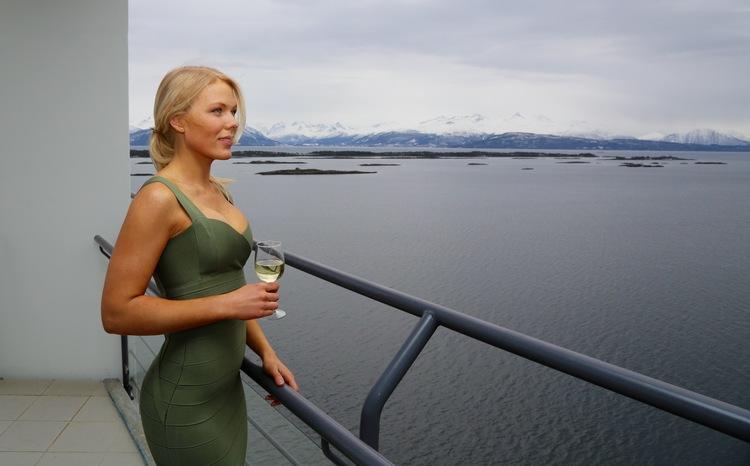 Med utsikt til en luksuriøs opplevelse på Nordvestlandet - Molde.Foto: Odd Roar Lange