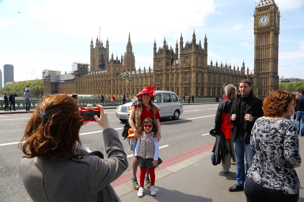Ut på tur. Kanskje til London.                                    Foto: Odd Roar Lange