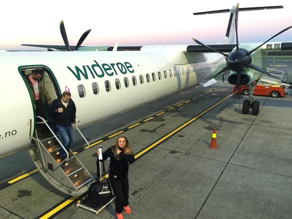 Er du klar for sommerreise med Widerøe?                        Foto: Odd Roar Lange