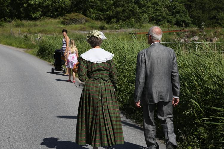Det deilige sommerlivet i Sverige.  Er du klar?                Foto: Odd Roar Lange