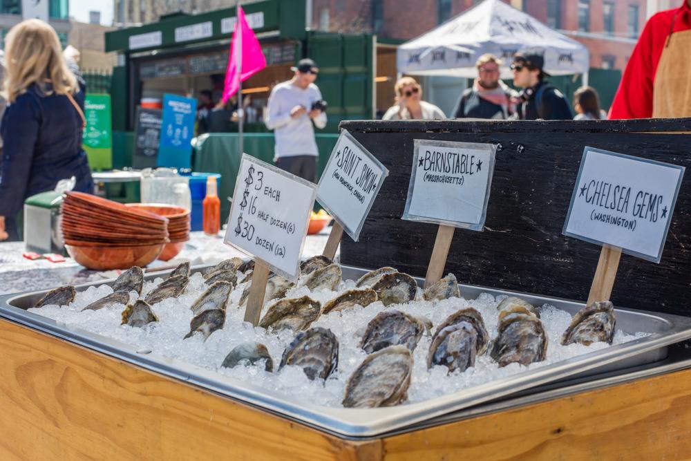 Østers som snack på en lørdag i Brooklyn?Foto: Sven-Erik Knoff