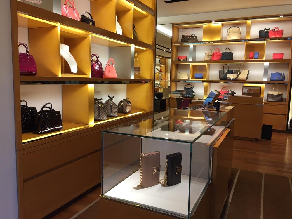 Louis Vuitton i Oslo                               Foto: Odd Roar Lange
