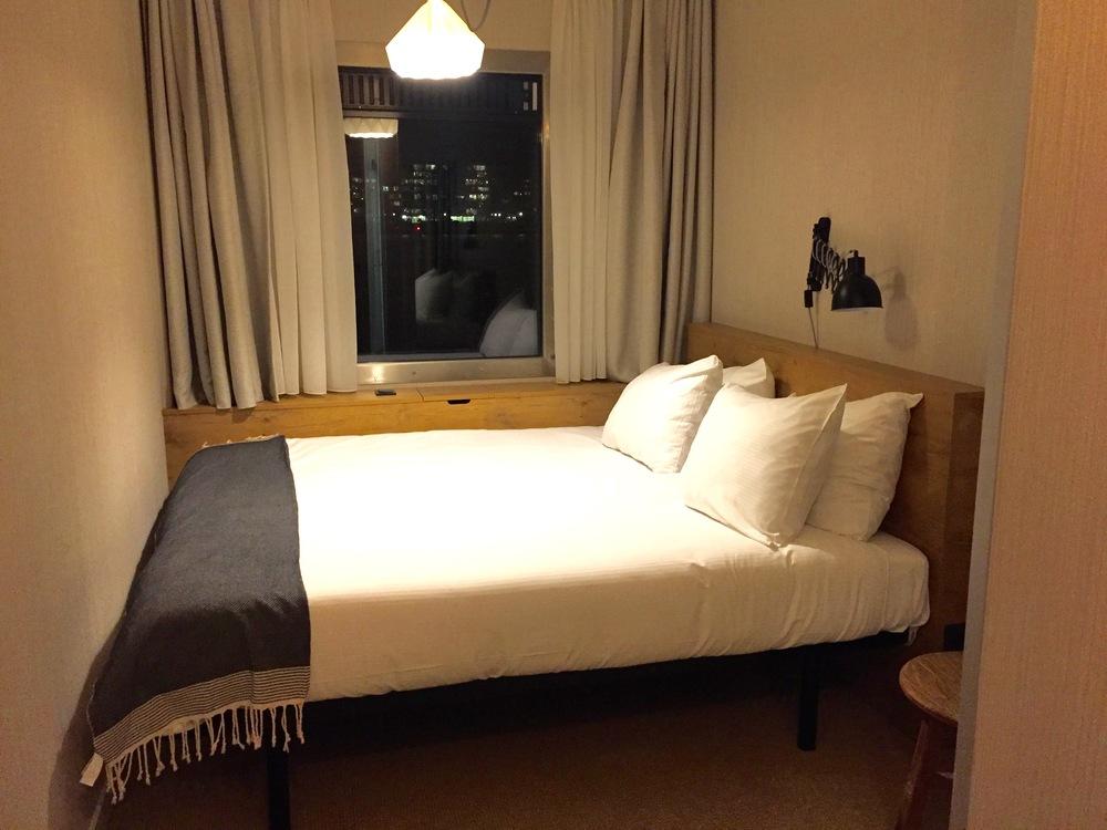 Er hotellrommet slik det som ut til å være på nettsiden?    Foto: Odd Roar Lange