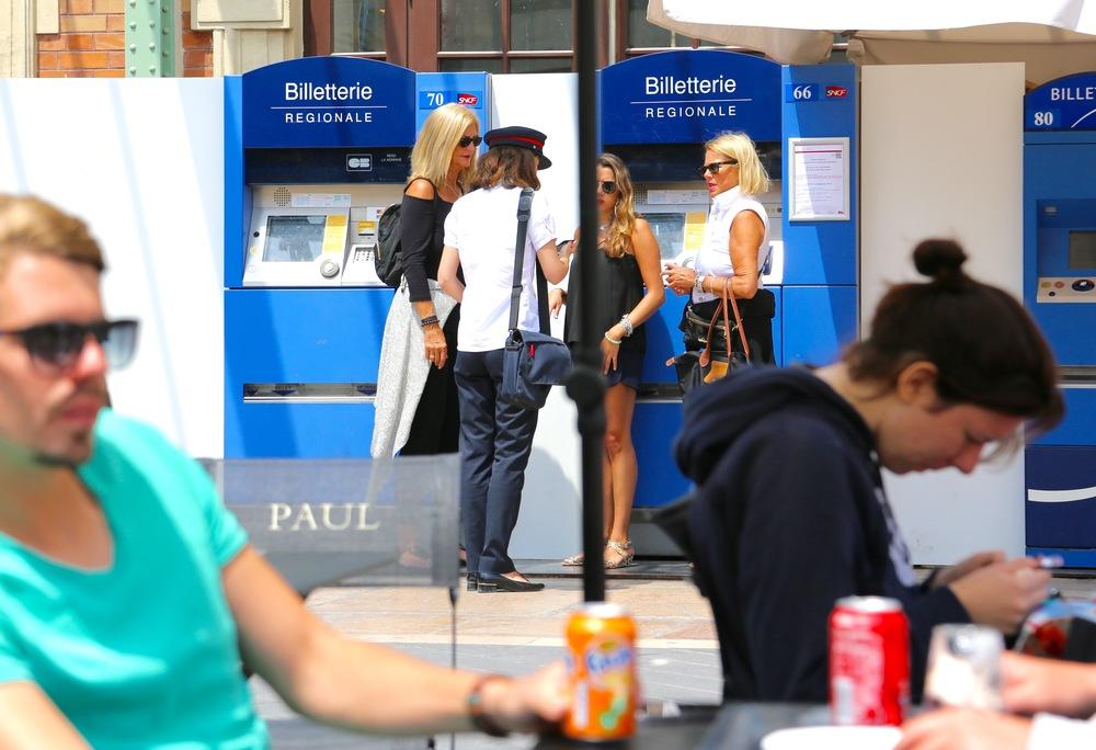Det er lett å bruke offentlig kommunikasjon i Nice. Foto: Odd Roar Lange