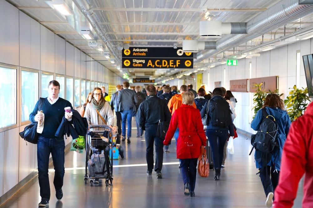 Oslo Lufthavn Gardermoen                                     Foto: Odd Roar Lange