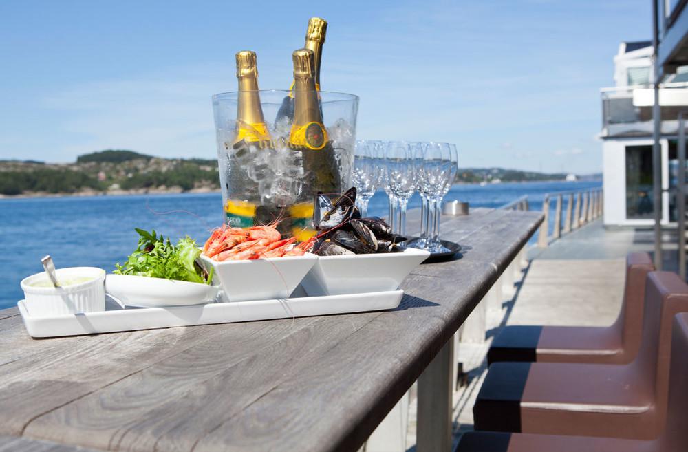 Prøv en av Norges beste sjømatrestauranter.             Foto: Cornelius Sjømatrestaurant