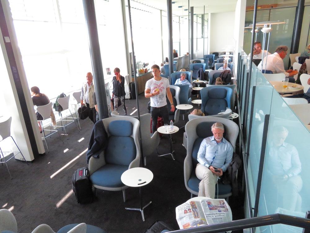 Velkommen til Aviator Lounge i København.           Foto: Odd Roar Lange