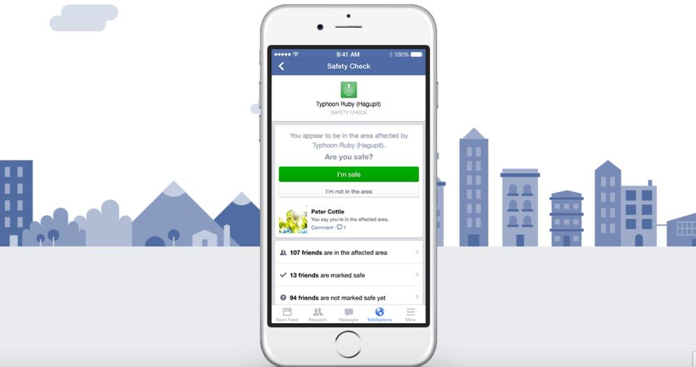 Facebook Trygghetssystem