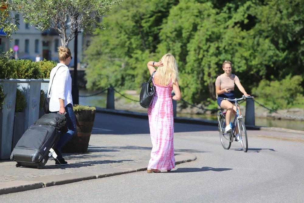God tur til Sverige.                              Foto: Odd Roar Lange