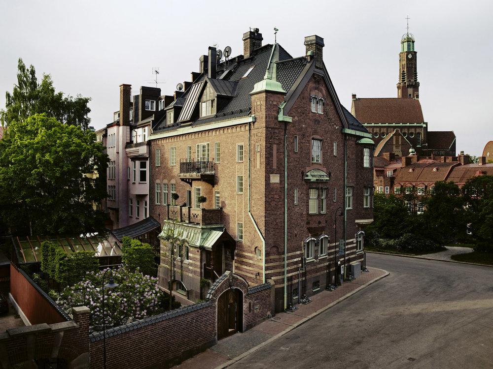 Dette huset skjuler Sveriges beste hotell.              Foto: Ett Hem