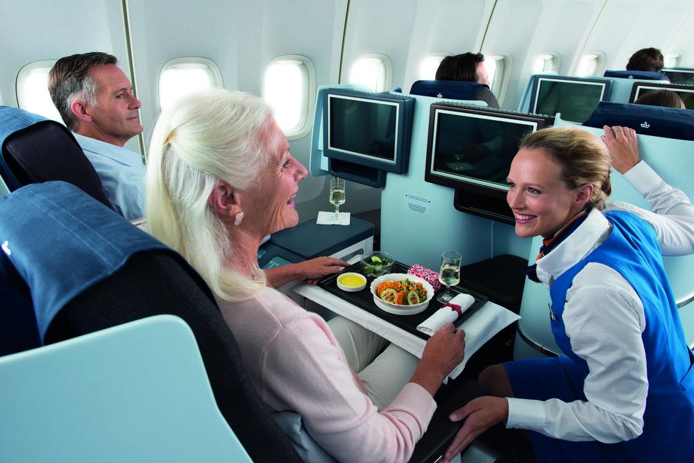 Business class. En drøm for den som reiser med fly.