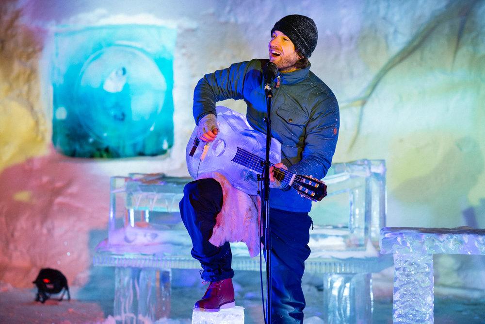 Fra isfestivalen i Geilo.                Foto: Emile Holba/IceMusicFestival