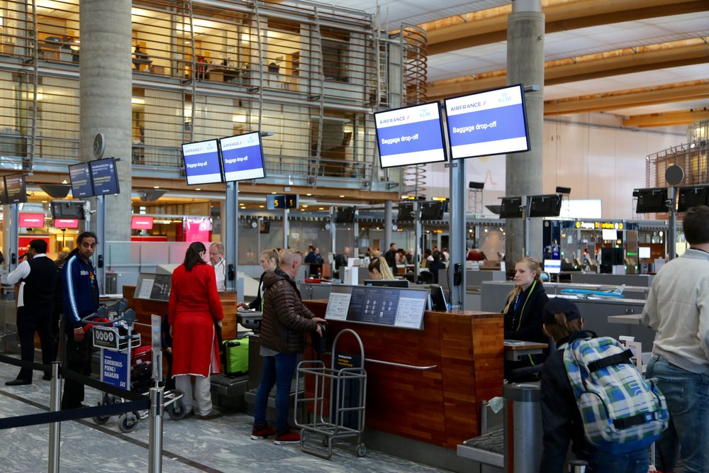 Kontakt flyselskapet eller groundservice dersom bagasjen din er borte. Foto: Odd Roar Lange
