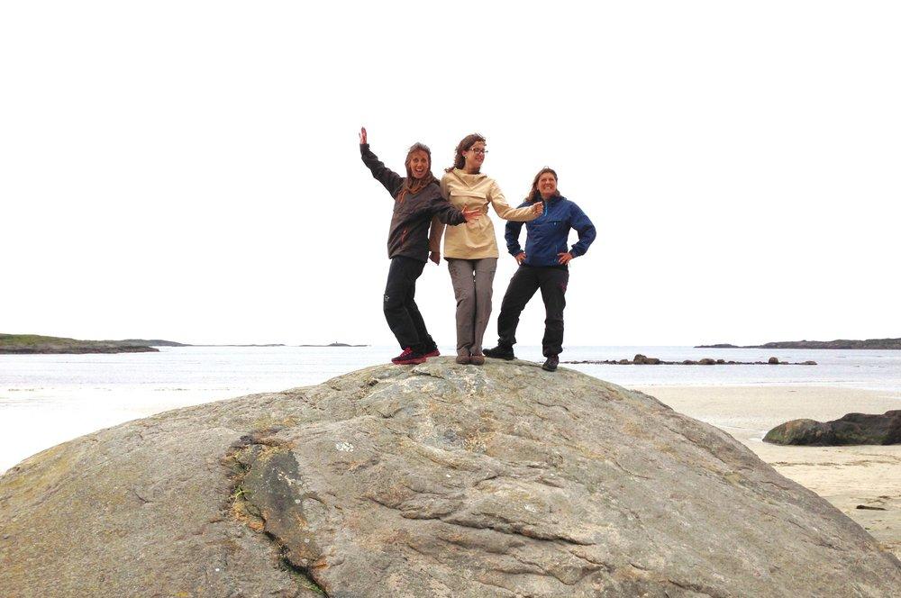 Toppen av naturopplevelser, Atlanterhavsvegen og Farstadsanden. Foto: Odd Roar Lange