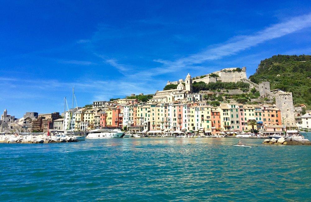 Dette frister deg kanskje. Her er Portovenere i Italia.      Foto: Odd Roar Lange
