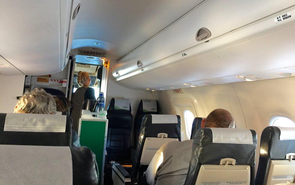 Skal man leve med mange halvfulle fly, eller fylle opp flere seter? Foto: Odd Roar Lange