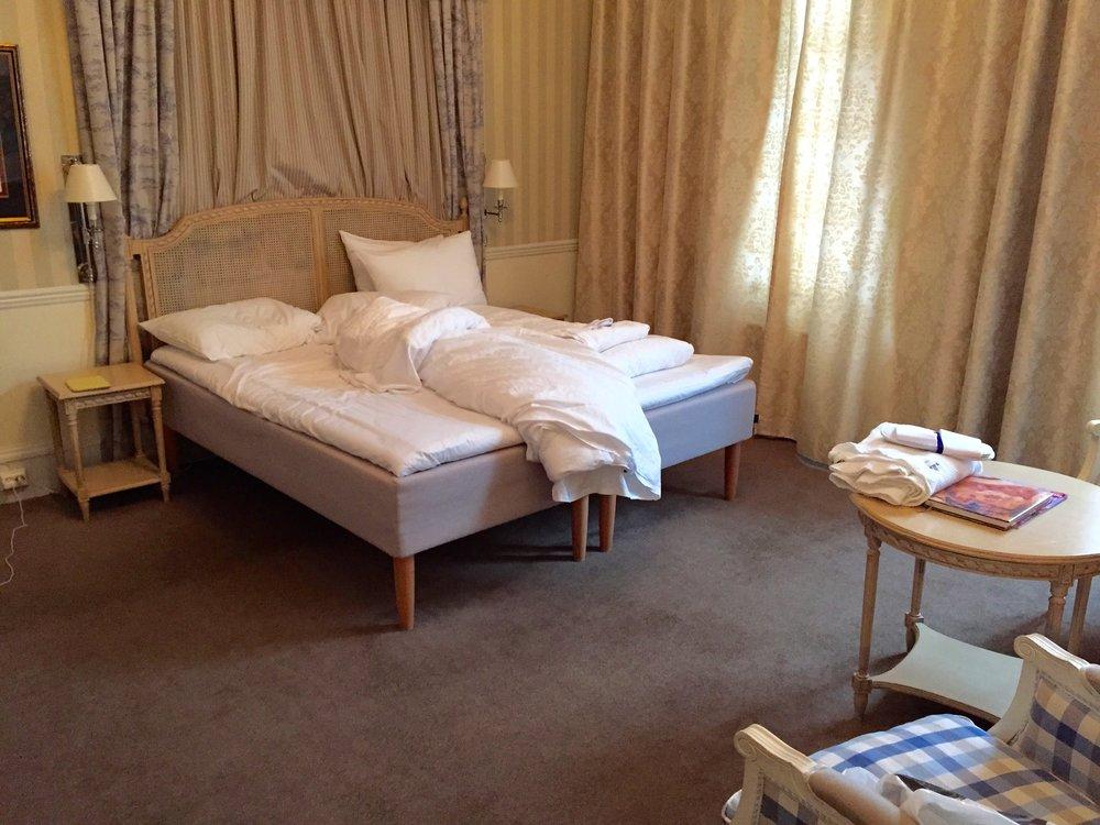 Den gangen... Britannia-suite før ombyggingen.            Foto: Odd Roar Lange