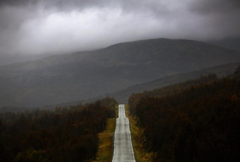 Her er ett av bildene Yannis Behrakis tok i Norge.