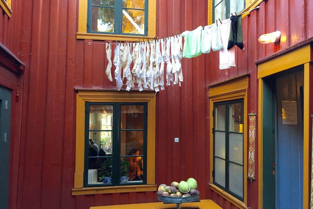 Velkommen til Bakklandet i Trondheim                 Foto: Odd Roar Lange