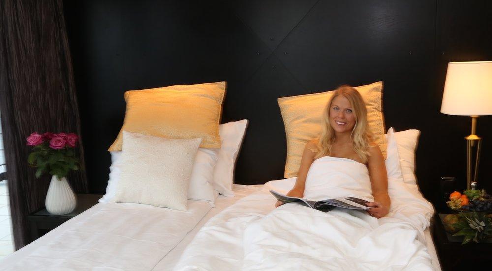 En god natts søvn kan være forskjellen på en god og mindre god reise. Foto: Odd Roar Lange