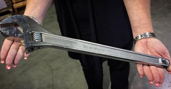 Trodde du at du kunne ta med denne i sikkerhetskontrollen?    Foto: TSA