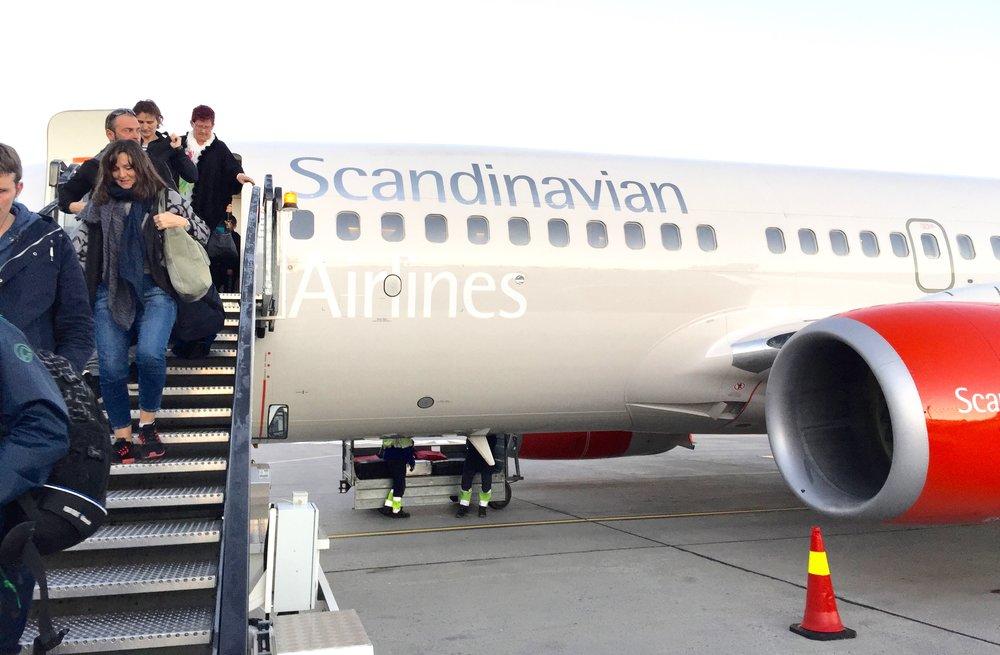 Det blir endringer for SAS-passasjene fra 2017.           Foto: Odd Roar Lange