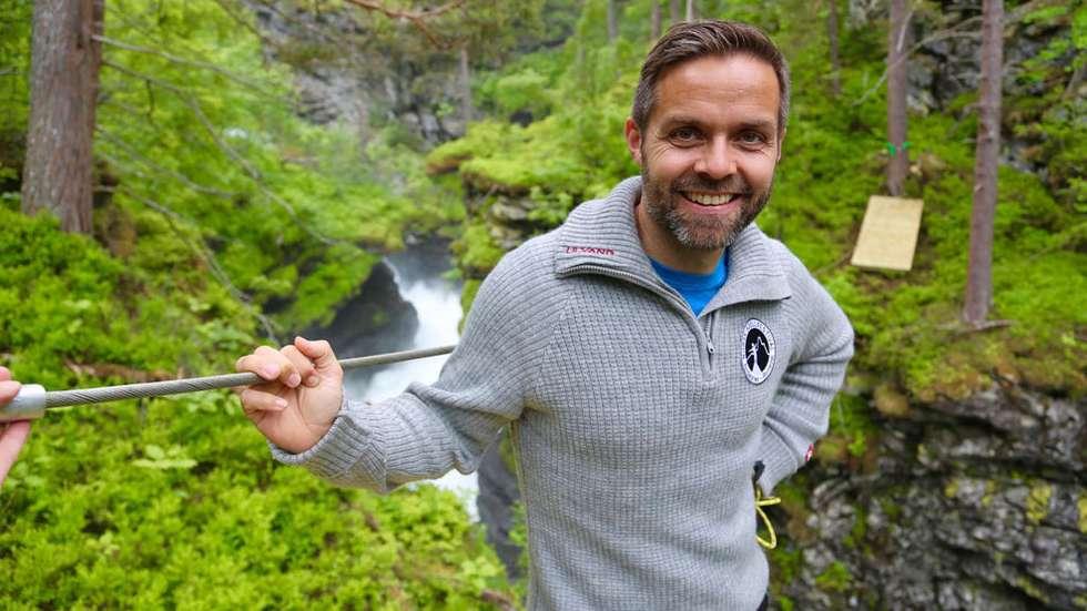 Jan Sverre Sivertsen er en av syn partere i 2469 Reiselivsutvikling. Foto: Odd Roar Lange