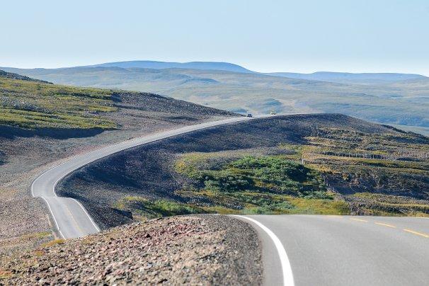 Ifjordfjellvegen er Norges vakreste. Foto: Knut Opeide/Statens vegvesen