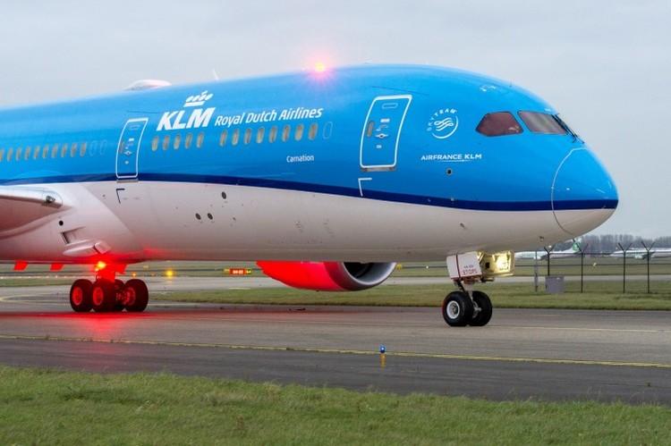 Her er KLMs nye sommermeny                               Foto: KLM