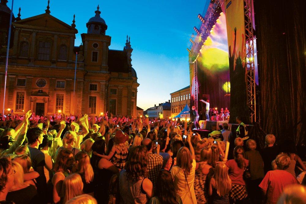 Er du klar for den svenske festivalsommeren? Se oversikten her. Foto: Visitsweden