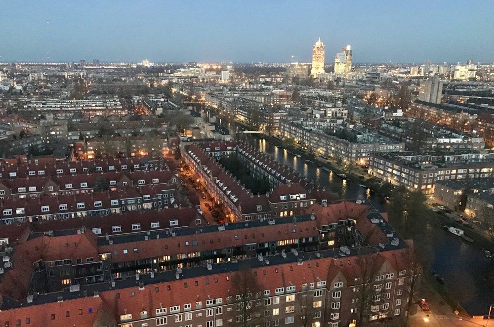 Har du oversikten over det som skjer i Amsterdam? Foto: Odd Roar Lange