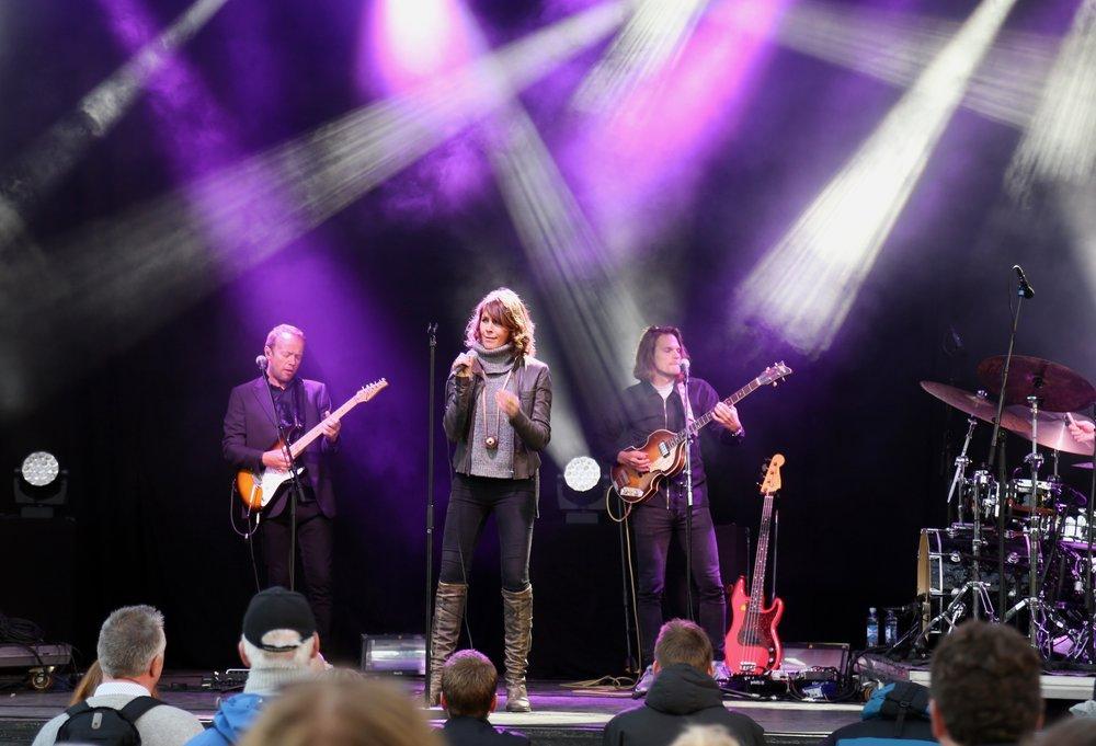 Kommer du i sommer? Kari Bremnes synger ved flere festivaler i sommer. Foto: Odd Roar Lange