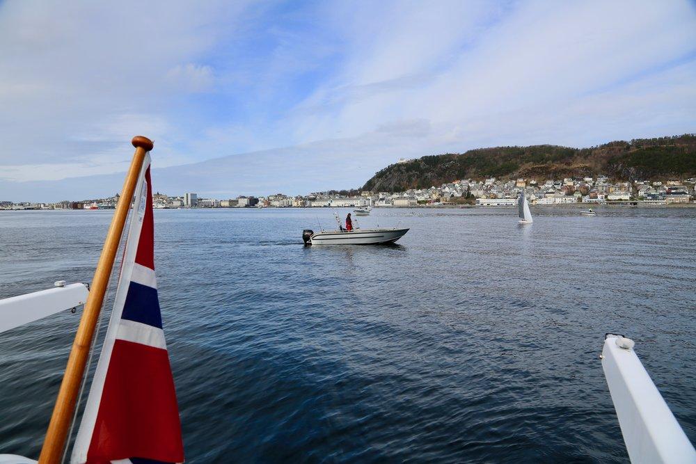 Hvis du skal feriere i Norge så er Ålesund et godt valg.      Foto: Odd Roar Lange