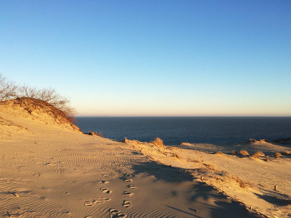 Den Kuriske Landtunge: Deilige sandstrender og hav på begge sider.  Foto: Lithuanian State Department of Tourism