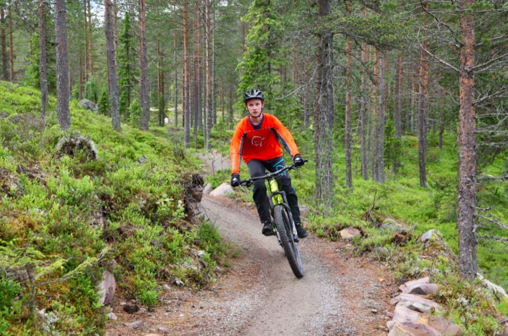 Sykkelturismen i Trysil har skutt i været. Vi har testet det, og det er verd turen. Foto: Odd Ror Lange