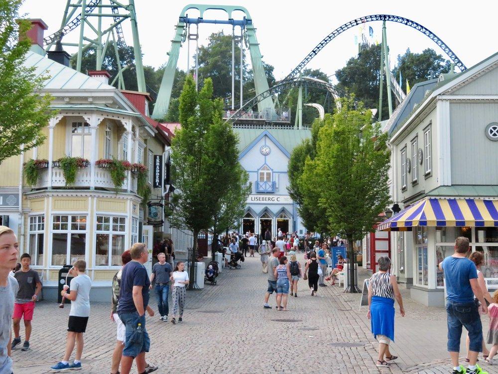 Liseberg er en sommerfavoritt for mange - men turen kan ende med et mareritt. Foto: Odd Roar Lange