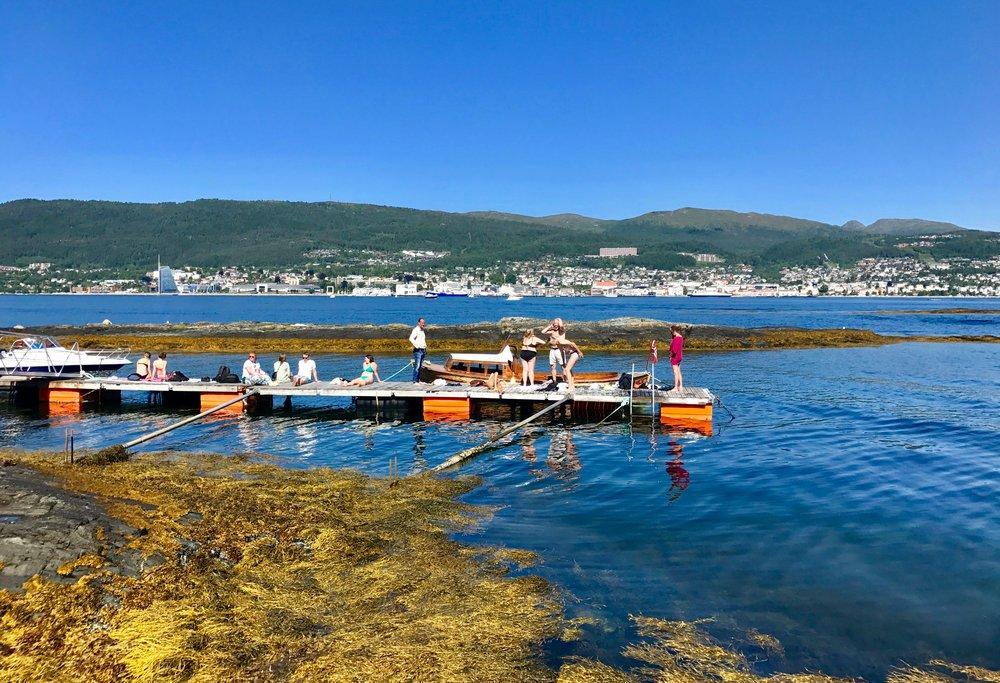 Velkommen til Molde.                    Foto: Odd Roar Lange